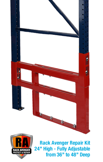 Pallet Rack Repair Kit Rack Avenger 24 inch Kit